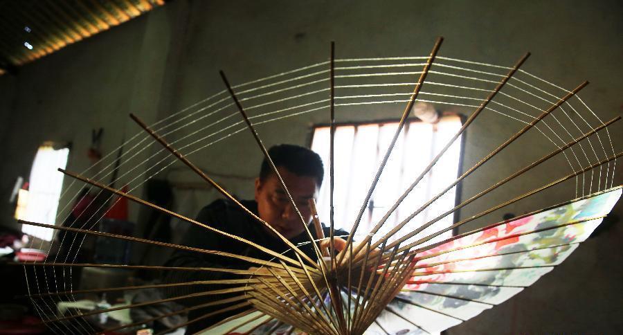 Китайские бумажные зонты