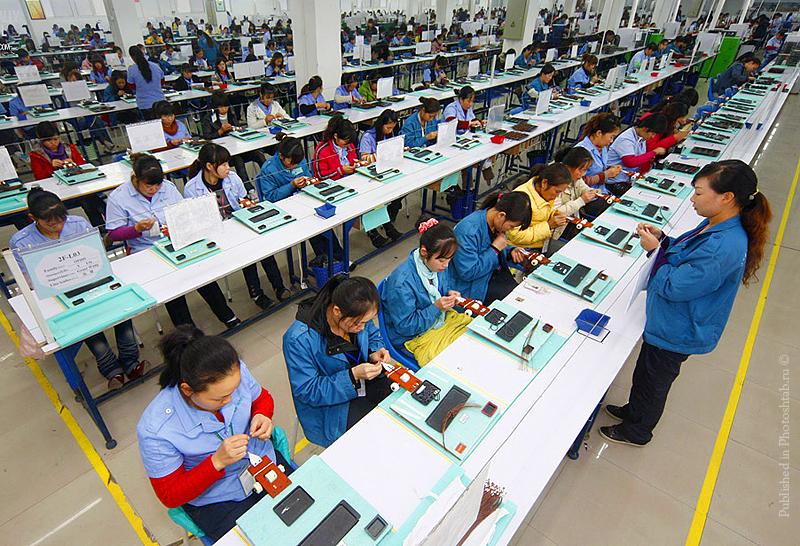 Оценка китайской фабрики
