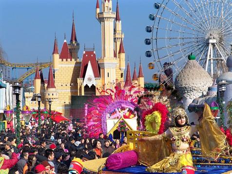 Развлекательные парки Китая