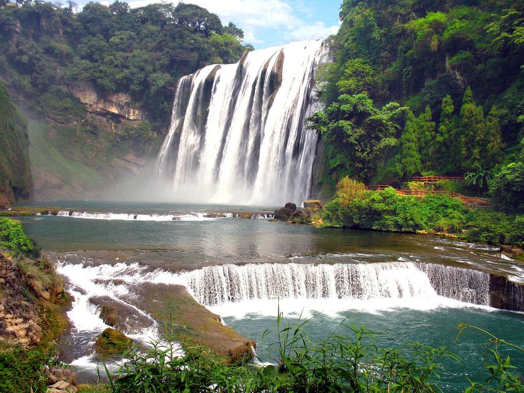 Водопады Поднебесной