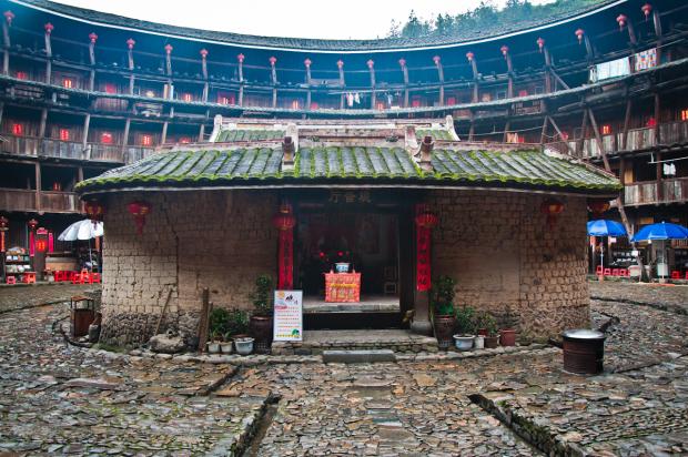 Традиционные дома китайцев Хакка