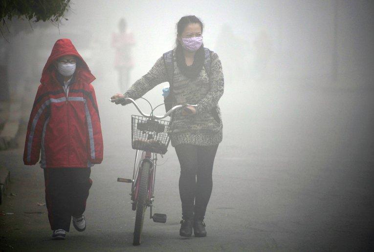 Как пережить загрязнение воздуха в Китае