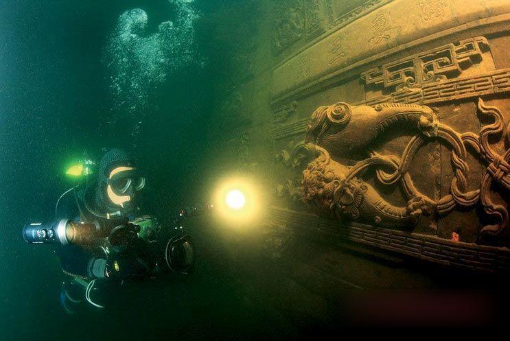 Подводные города Озера тысячи островов