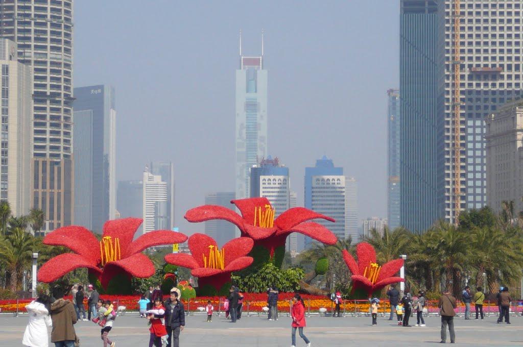 Места которые необходимо посетить в Гуанчжоу