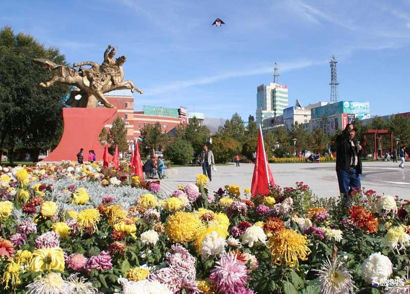 Алтай — город в Китае